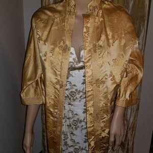 Mandarin style vintage top